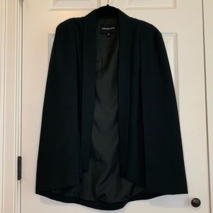 Who What Wear cape blazer